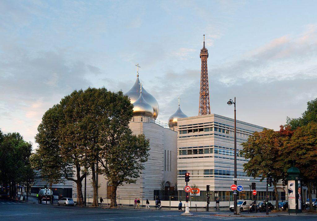 La cathédrale orthodoxe russe de Paris
