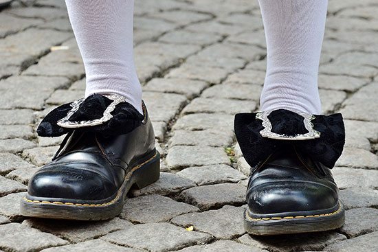 La chaussure à son pied
