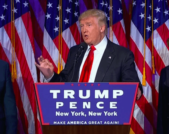 Donald Trump élu président des USA, un séisme électoral