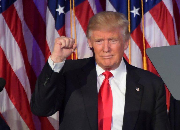 Donal Trump, 45e président des Etats-Unis