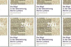 Un timbre pour les 500 ans de la Réforme en Allemagne