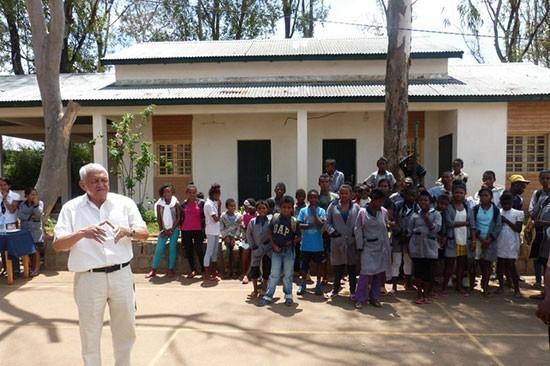 De retour de mission à Madagascar
