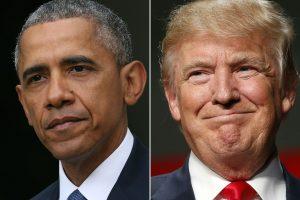 Obama et Trump