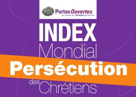 Résultats de l'Index mondial de persécution des chrétiens 2017