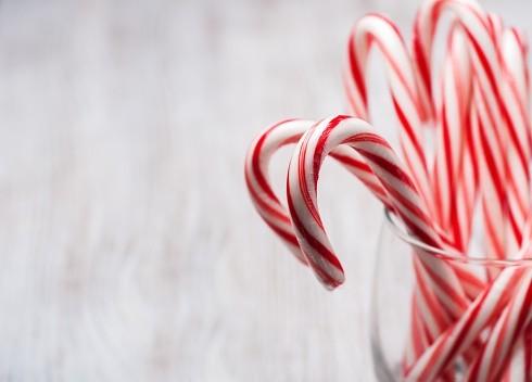 25 décembre... Canne de Noël : légende et acrostiches