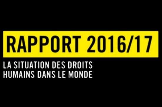 Amnesty International tire la sonnette d'alarme