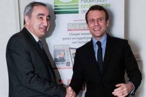 Retour sur la soirée avec Emmanuel Macron