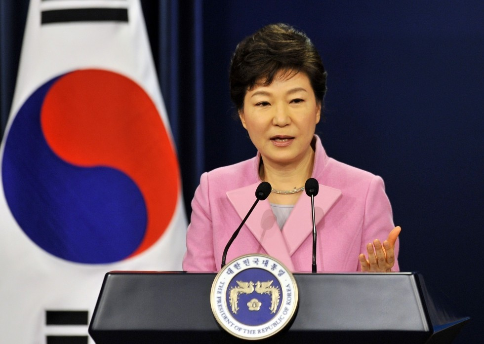 La présidente Park Geun-hye et le chamanisme