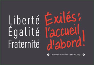"""Des """"couloirs humanitaires"""" en France"""