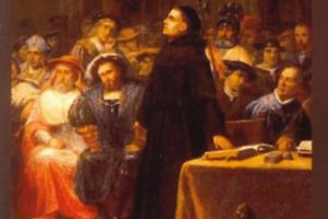 La substance de l'évangile selon luther