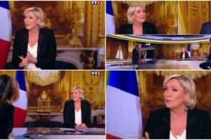 Quand Marine Le Pen dérape sur les protestants