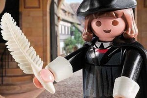 Le plus grand succès de Playmobil est une figurine de Martin Luther