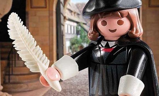 Le plus grand succès de Playmobil est une figurine de Martin Luther