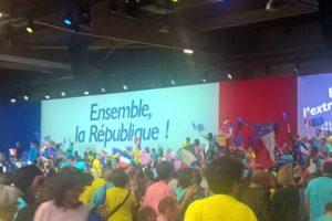 Emmanuel Macron appelle à résister face au FN