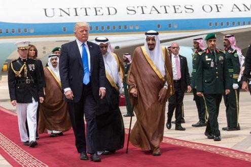 Visite de Donald Trump en Arabie Saoudite