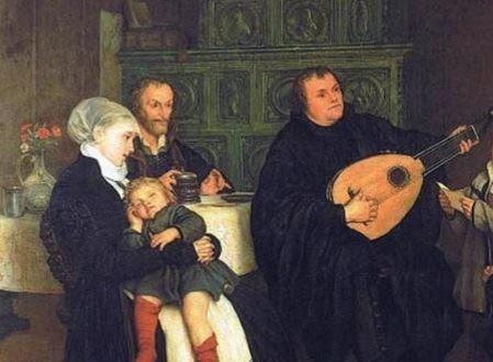 Les grands cantiques de Luther