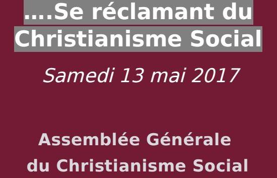Le mouvement du christianisme social
