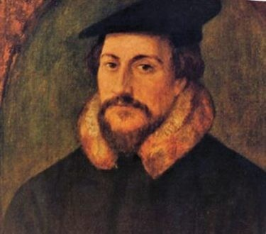 Le réformateur Jean Calvin