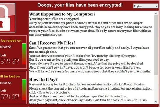 Un logiciel de rançon qui fait la une, protégez-vous !