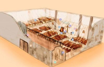 Visite interactive d'un temple protestant