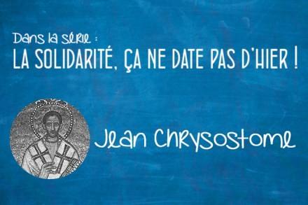 Portrait : Jean Chrysostome (347-407)