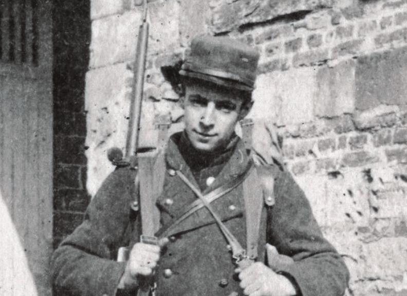 Michel Hollard, engagé volontaire en 1915