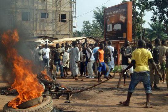 Regain de tensions au Centrafrique