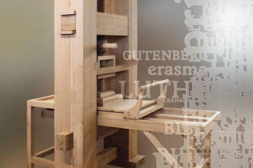 Une réplique de la presse de Gutenberg ressuscite les idées de la Réforme