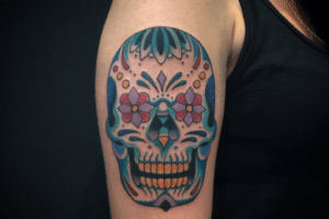 tete-mort-tatouage-mexicaine-bras-calaveras-tattoo-tatoo-homme-femme