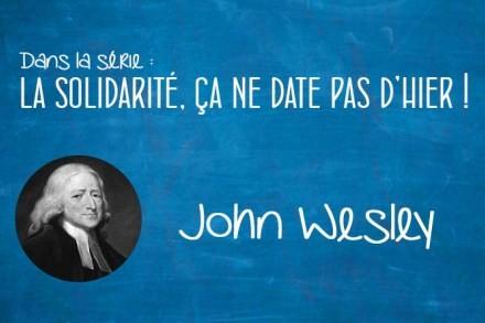 Portrait : John Wesley (1703-1791)