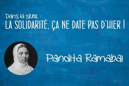 Portrait : Pandita Ramabai (1858-1922)