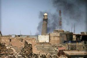 La mosquée Al-Nouri et son minaret