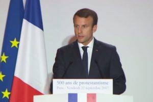 Emmanuel Macron fête les 500 ans de la Réforme protestante