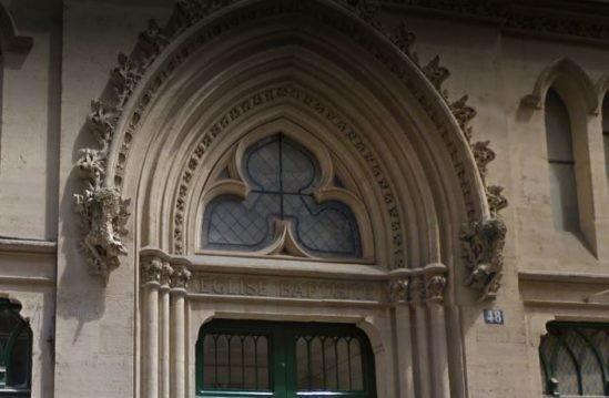 L'église baptiste de la rue de Lille à Paris