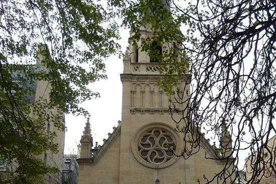 L'église Protestante Unie Saint Jean.