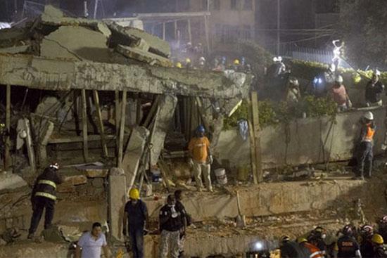 « Chaos » après le séisme de Mexico