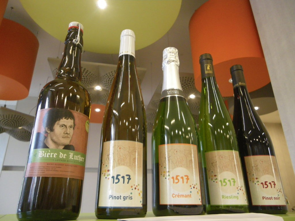 De la bière et du vin pour les 500 ans de la Réforme