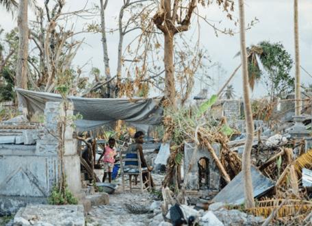 Haïti : un an après l'ouragan Matthew