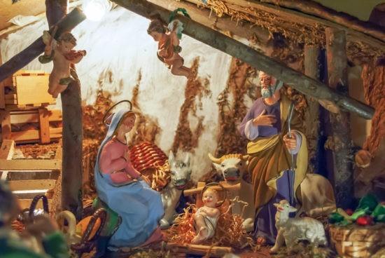 Une crèche de Noël participative à Chartres