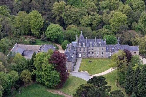 Le château de Beaufort, à Plerguer
