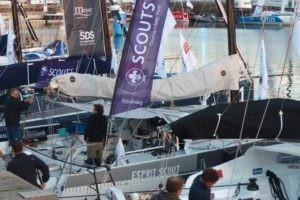 Transat Jacques Vabre : deux scouts sur l'océan