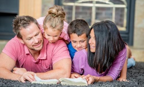 La foi transmise à nos enfants