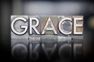 La grâce en cinq mots