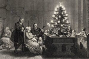 Un sapin de Noël et une princesse protestante francophone