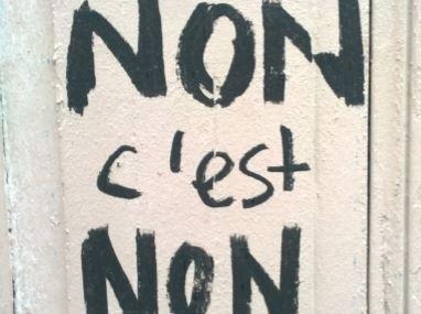 Des femmes disent non