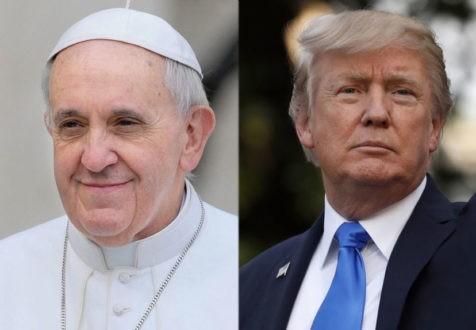 Donald Trump contre le pape François