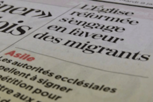 Les migrants grands absents des articles de presse
