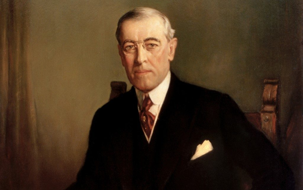 """8 janvier 1918. Le président Wilson et son discours des """"14 points"""""""