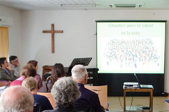 Une semaine à l'Église d'Ensisheim