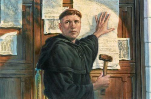 31 octobre 1517. Début de la Réformation du 16è siècle